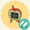 ポケ森 特殊家具 リンゴのテレビ アップル