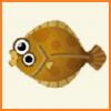 ポケ森 アイテム売却金額 とれるもの 魚 ヒラメ