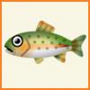 ポケ森 アイテム売却金額 とれるもの 魚 ニジマス