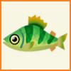 ポケ森 アイテム売却金額 とれるもの 魚 イエローパーチ