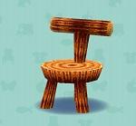 ポケ森 家具まとめ ログチェア