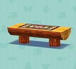 ポケ森 家具まとめ ロングソファテーブル