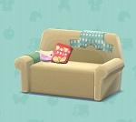ポケ森 家具まとめ だらしないソファ