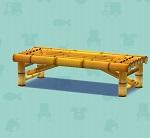 ポケ森 家具まとめ たけのベンチ
