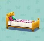 ポケ森 家具まとめ カントリーなベッド