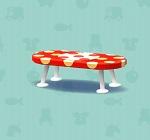 ポケ森 家具まとめ みずたまなローテーブル