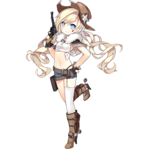 少女前線 キャラ 銃 HG コルト