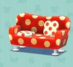 ポケ森 家具まとめ みずたまソファ