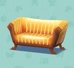 ポケ森 家具まとめ シックなソファ