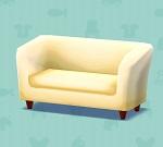 ポケ森 家具まとめ しろいソファ