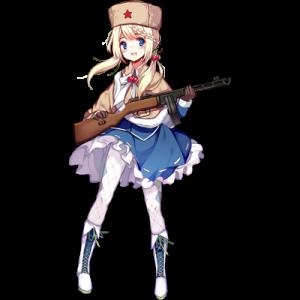 少女前線 キャラ 銃 SMG PPSh-41