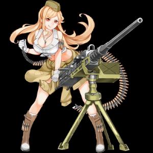 少女前線 キャラ 銃 MG M2HB