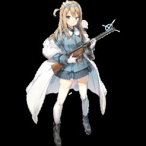 少女前線 キャラ 銃 SMG KP31