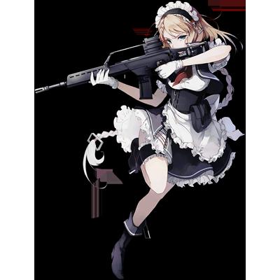 少女前線 キャラ 銃 AR G36