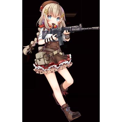 少女前線 キャラ 銃 AR FN FNC
