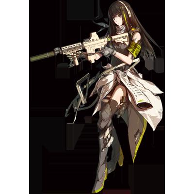 少女前線 キャラ 銃 AR M4A1