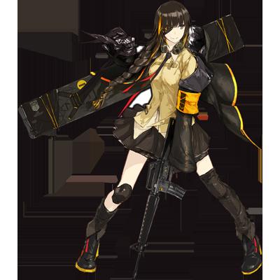 少女前線 キャラ 銃 AR M16A1