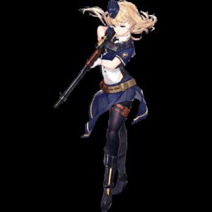 少女前線 キャラ 銃 MG FG42