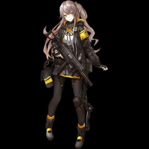 少女前線 キャラ 銃 SMG UMP45