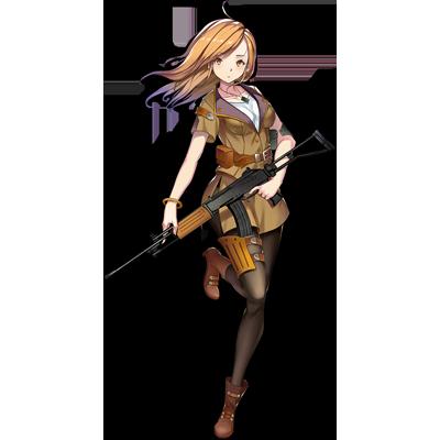 少女前線 キャラ 銃 AR ガリル