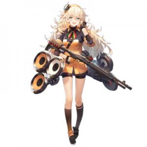 少女前線 キャラ 銃 SG S.A.T8